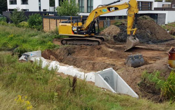 Ijzeren kind Vrijspel 's-Hertogenbosch aanleg duikers